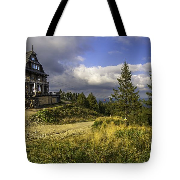 View From Jaworzyna Mountain In Poland 1 Tote Bag