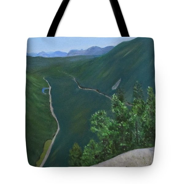 View From Mount Willard Tote Bag