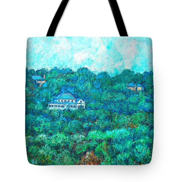 View From Rec Center Tote Bag by Kendall Kessler