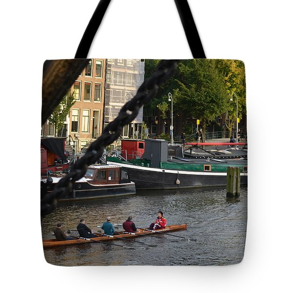 'skinny Bridge' Amsterdam Tote Bag