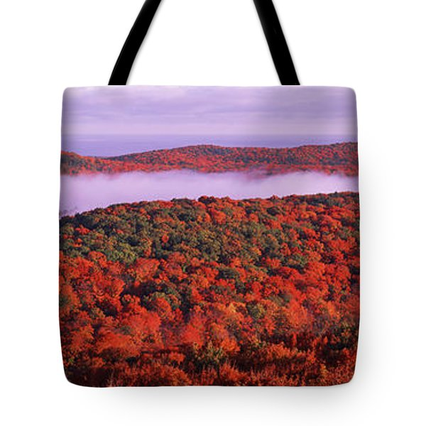 View From Summit Peak, Porcupine Tote Bag