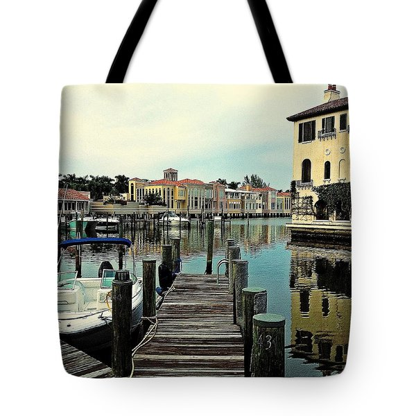 View From The Boardwalk 2 Tote Bag
