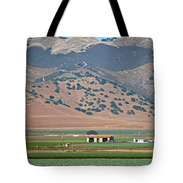 Tote Bag featuring the photograph View From The Crops by Susan Wiedmann