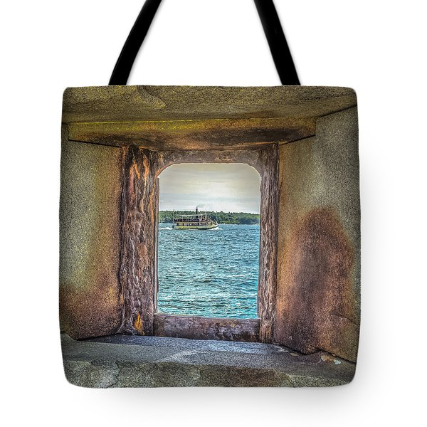 Tote Bag featuring the photograph View From The Fort by Jane Luxton