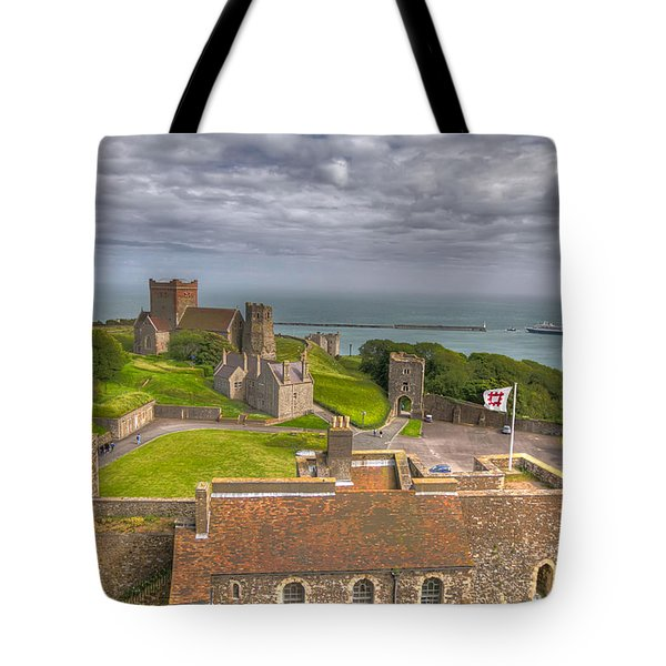 View From The Great Tower Tote Bag by Tim Stanley