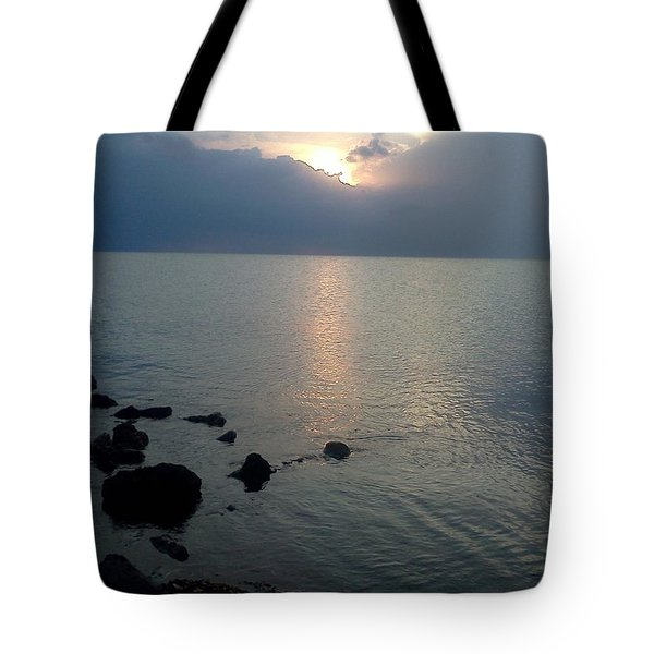 View From The Jetty 2 Tote Bag by K Simmons Luna
