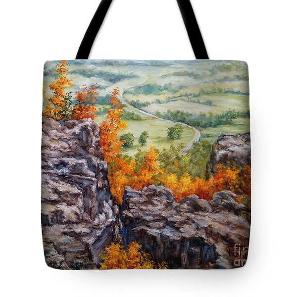 View From The Point Petit Jean Tote Bag