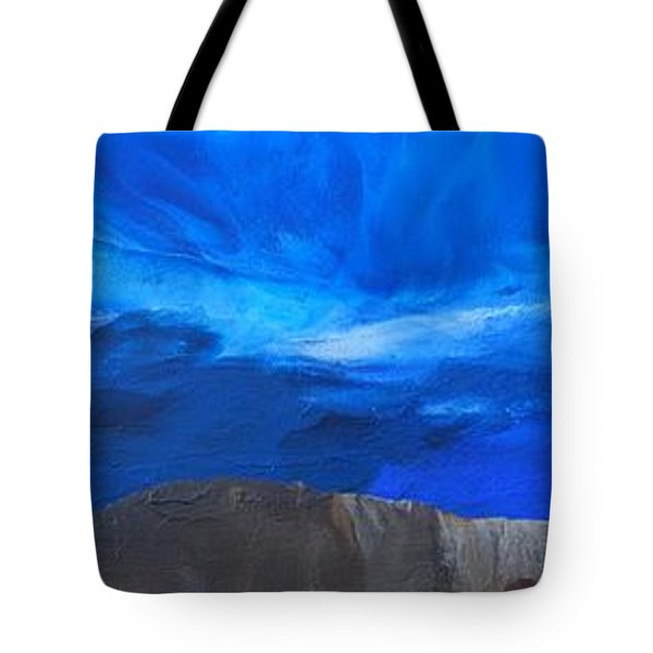 View From The Ridge Tote Bag