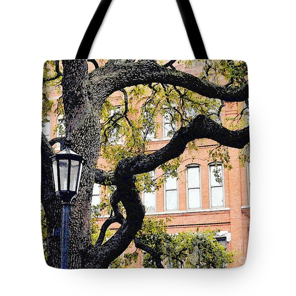 View From The Square Tote Bag