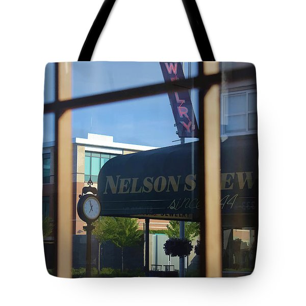 View From The Window Auburn Washington Tote Bag