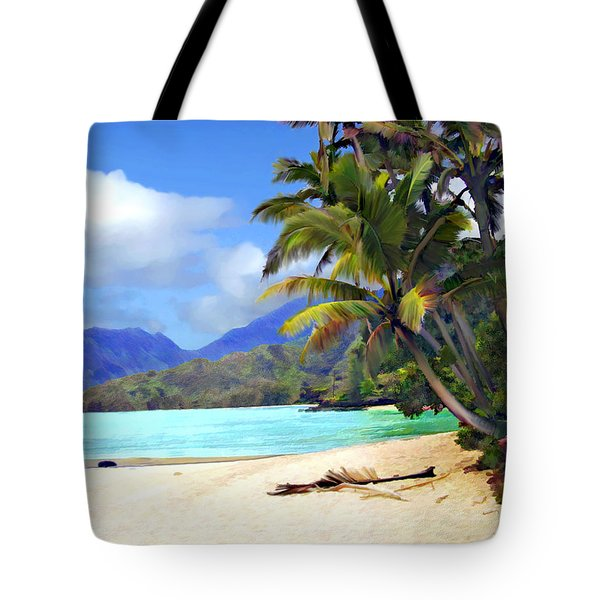 View From Waicocos Tote Bag by Kurt Van Wagner
