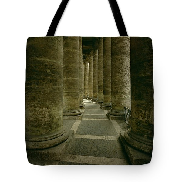 View Inside The Colonnade Photo Tote Bag