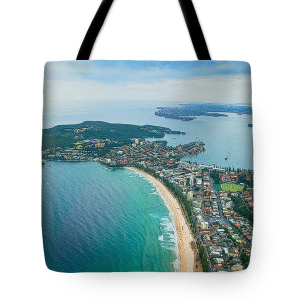 Tote Bag featuring the photograph View by Miroslava Jurcik