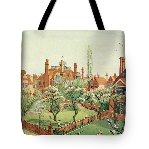 View Of Bedford Park Tote Bag by English School