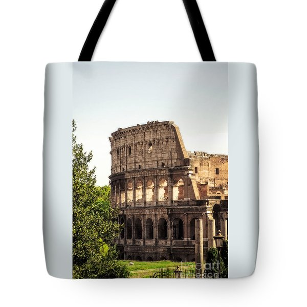 View Of Colosseum Tote Bag