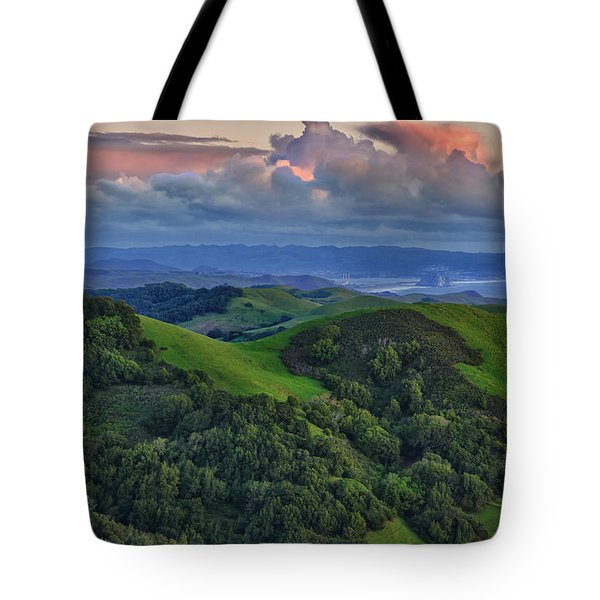 View Of Morro Bay Tote Bag