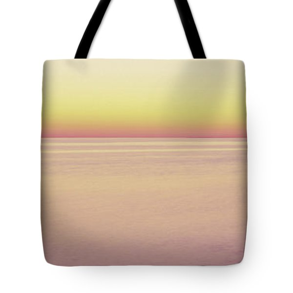View Of Ocean At Sunset, Cape Cod Tote Bag