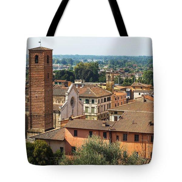 View Of Pietrasanta Tote Bag