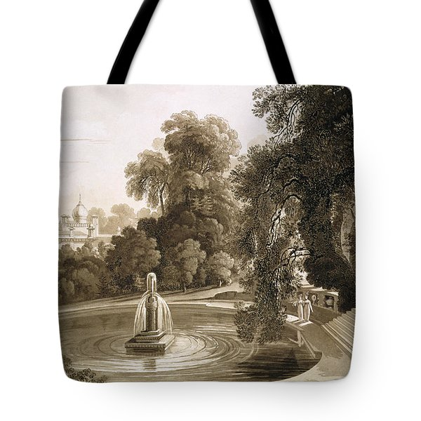 View Of The Temple Of Suryah Tote Bag