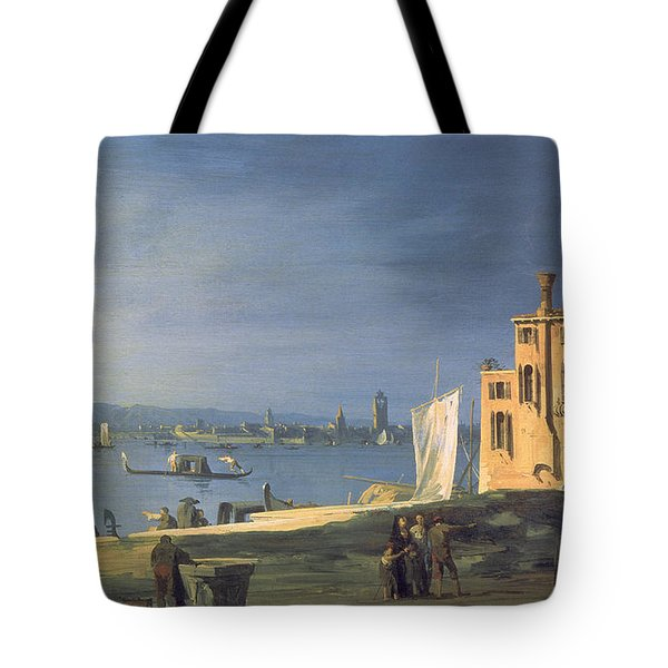 View Of Venice Tote Bag by Canaletto