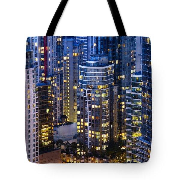 View Towards Coal Harbor Vancouver Mdxxvii  Tote Bag