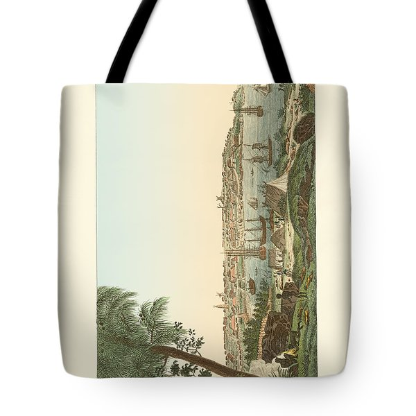 Views Of The City Of Sydney Tote Bag