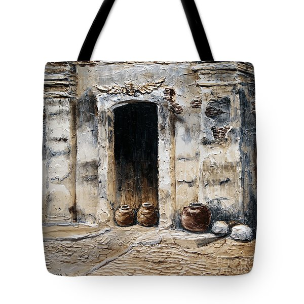 Vigan Door Tote Bag by Joey Agbayani