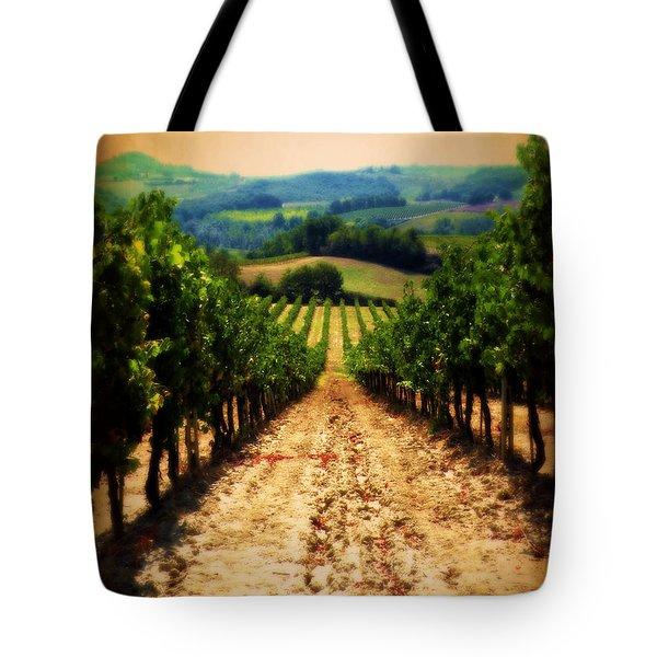 Vigneto Toscana Tote Bag