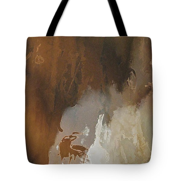 Vii - Mirky Wood Tote Bag