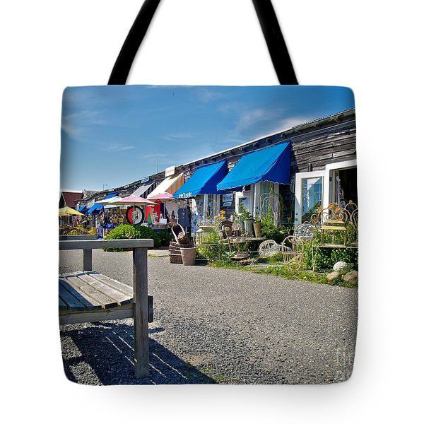 Viking Village Tote Bag