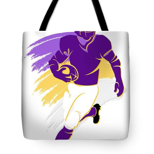 Vikings Shadow Player2 Tote Bag