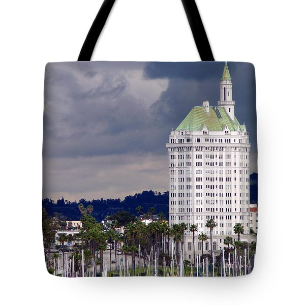Villa Riviera Long Beach Tote Bag