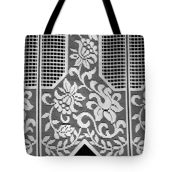 Tote Bag featuring the photograph Village Curtains by Colleen Williams