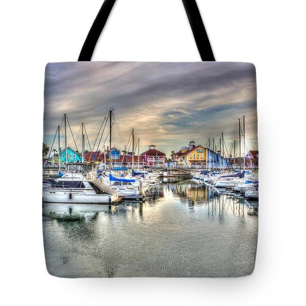 Village Tote Bag by Heidi Smith