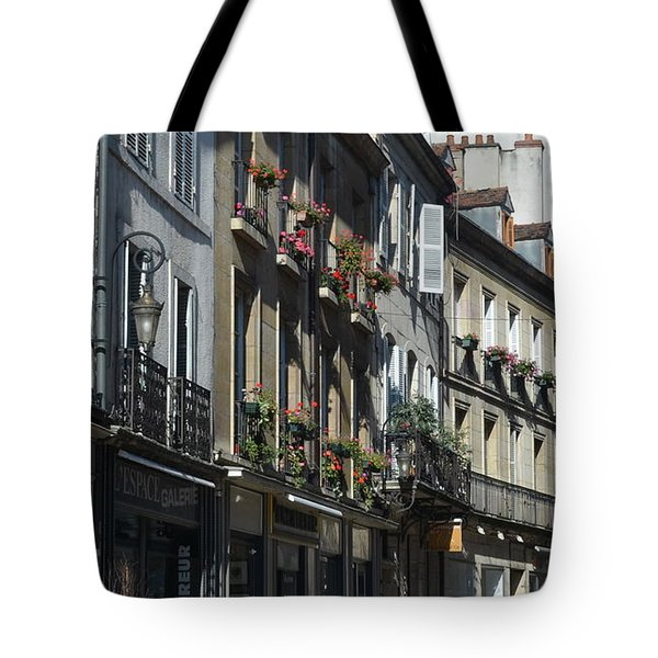 Village Shops Tote Bag