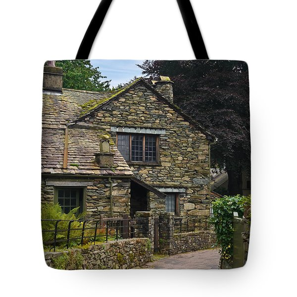 Village Street Grasmere Tote Bag by Jane McIlroy