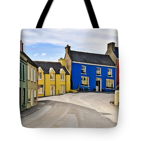 Tote Bag featuring the photograph Village Street by Jane McIlroy