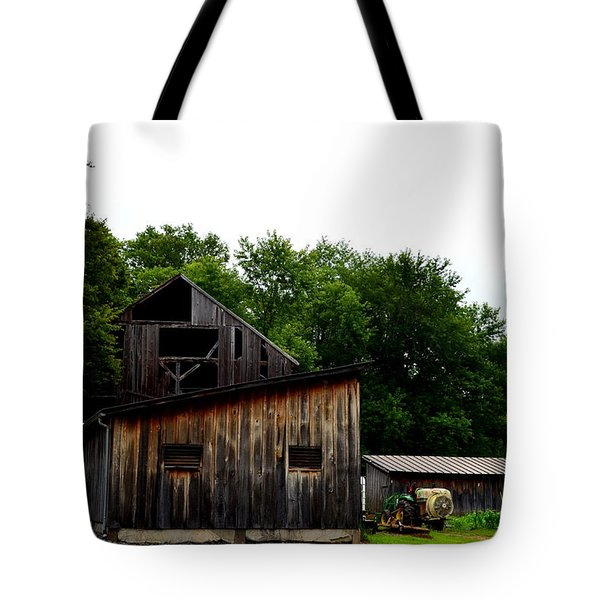 Tote Bag featuring the photograph Village Winery by Cathy Shiflett