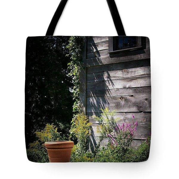 Tote Bag featuring the digital art Villagio by Barbara S Nickerson