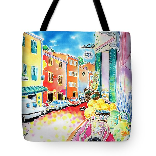 Ville Lumineuse Tote Bag