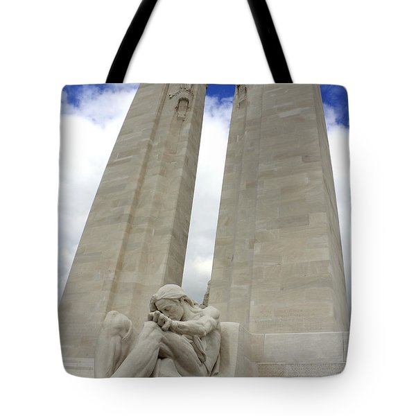 Vimy Ridge Memorial France Tote Bag