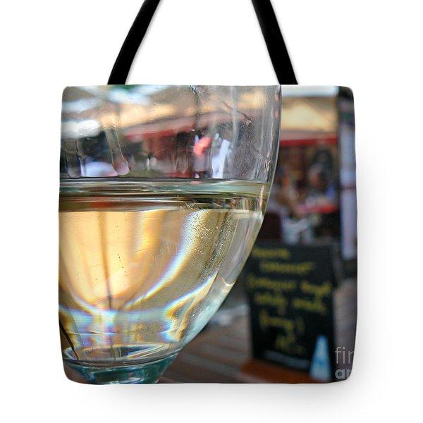 Vin Blanc Tote Bag by France  Art