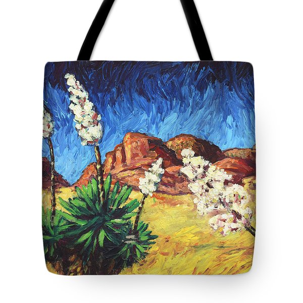 Vincent In Arizona Tote Bag