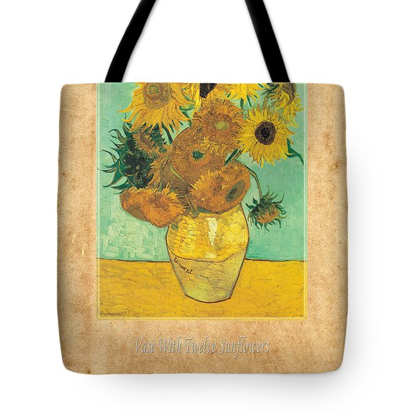 Vincent Van Gogh 2 Tote Bag by Andrew Fare