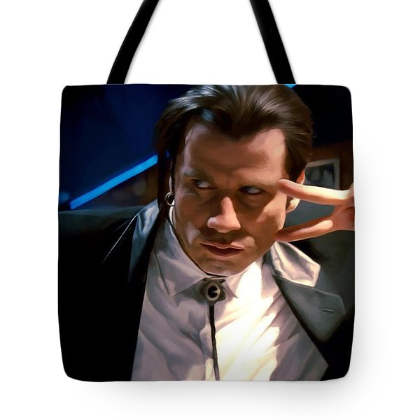 Vincent Vega Tote Bag