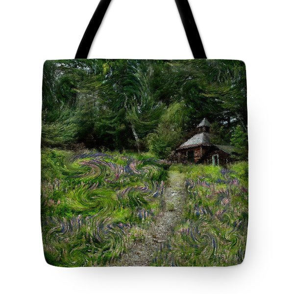 A Lupine Tale  Vincents View Tote Bag