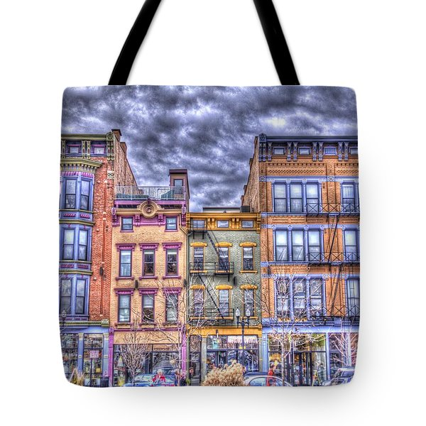 Vine Street Tote Bag by Daniel Sheldon