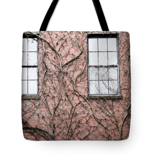 Vines And Brick Tote Bag