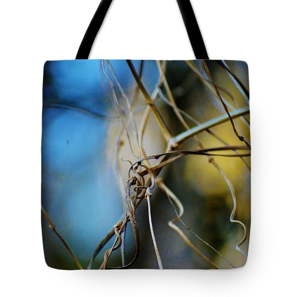 Vines In The Back Garden Tote Bag