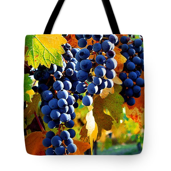 Vineyard 2 Tote Bag by Xueling Zou
